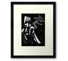 Fight Club Framed Print