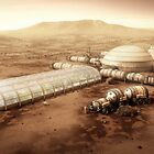 Mars Settlement With Farm by BryanVersteeg