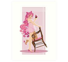 Sailor Moon Pinup - Chibiusa Art Print
