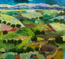 Into the Fields by Allan P Friedlander