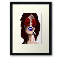 Within the eye of the beholder. Framed Print