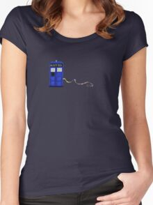 The Dachshunds Have the Phone Box Women's Fitted Scoop T-Shirt