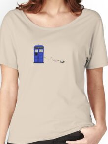 The Dachshunds Have the Phone Box Women's Relaxed Fit T-Shirt