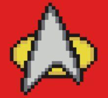 Star Trek Comm Badge by Flaaffy