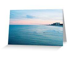 Jacksonville Beach 1 of 2 (FILM) Greeting Card