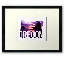 Oregon - Coast Framed Print