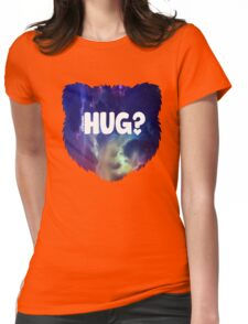 Bear Hug?  Womens Fitted T-Shirt