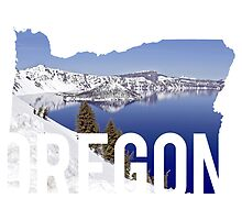 Oregon - Crater Lake by Daogreer Earth Works