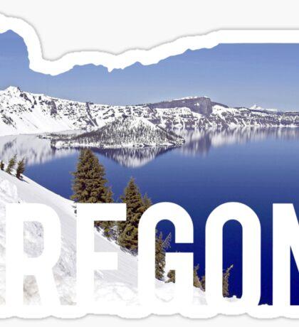 Oregon - Crater Lake Sticker