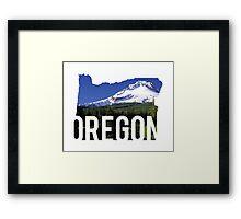 Oregon - Hood Framed Print