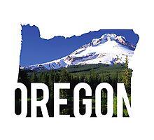 Oregon - Hood Photographic Print