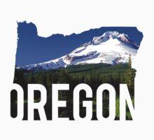 Oregon - Hood Baby Tee
