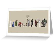 Lord of the Rings - Fellowship Greeting Card