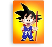 Goku Kid Metal Print