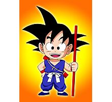 Goku Kid Photographic Print