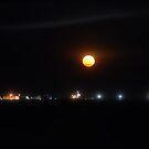 Full Moon from Darwin Pier by Alihogg