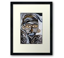Barbarism (6) - Helmet with Scales Framed Print