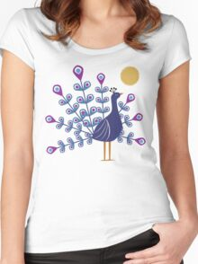 Gemmy Peacock Women's Fitted Scoop T-Shirt