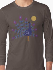 Gemmy Peacock Long Sleeve T-Shirt