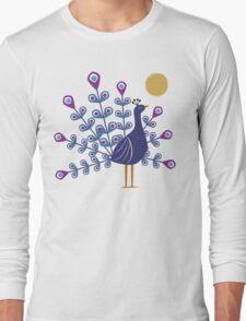 Gemmy Peacock Long Sleeve T-Shirt