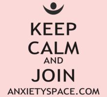 Keep Calm and Join Anxiety Space Kids Clothes