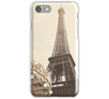 Eiffel Tower Carousel iPhone Case/Skin