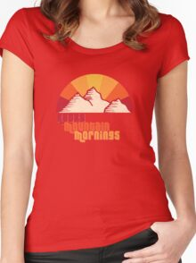 Rocky Mountain Mornings Women's Fitted Scoop T-Shirt