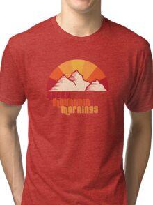 Rocky Mountain Mornings Tri-blend T-Shirt