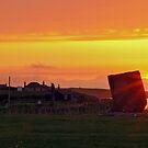 Neolithic Sunset by WatscapePhoto