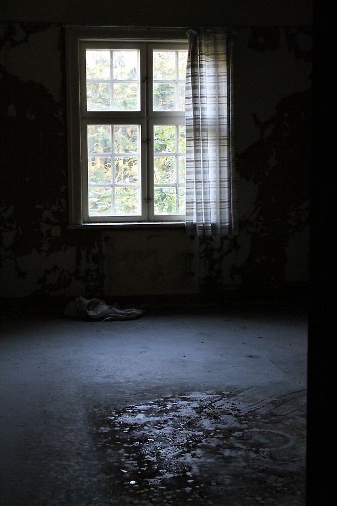 Abandoned asylum. Old Lier Mental Hospital, Norway. Built 1921, closed 1985.  by UpNorthPhoto