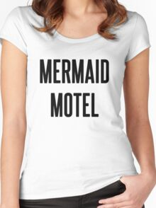 MERMAID MOTEL Women's Fitted Scoop T-Shirt