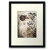 Cool Dotty Dots & Crazy Circles... Framed Print