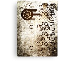 Cool Dotty Dots & Crazy Circles... Canvas Print