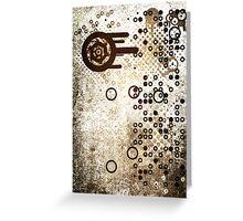 Cool Dotty Dots & Crazy Circles... Greeting Card