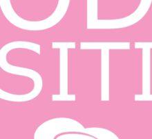 Body Positive (pink) Sticker