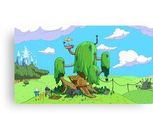 treehouse adventure time  Canvas Print