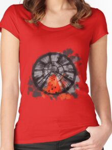 Melbourne Abstract Women's Fitted Scoop T-Shirt
