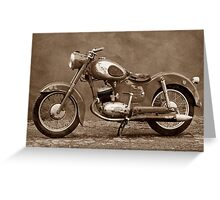 Puch 125 SV Greeting Card