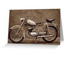 Puch 125 TL Greeting Card