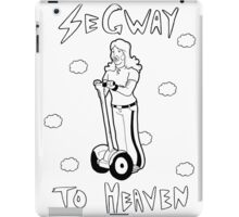 segway to heaven iPad Case/Skin