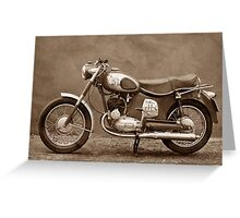 Puch 175 SVS Greeting Card