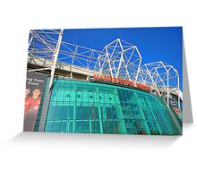 OLD TRAFFORD Greeting Card