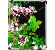 Bee & Purple Flower iPad Case/Skin