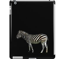 a slice of zebra iPad Case/Skin