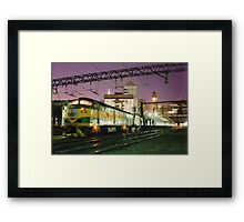 Indian Pacific at Central Station, Sydney Framed Print