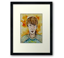 Street Smart Kid Framed Print