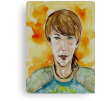 Street Smart Kid Canvas Print