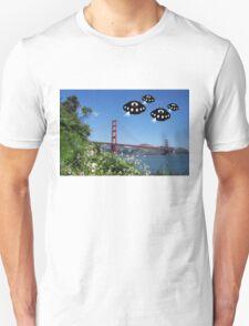 Aliens invade San Francisco T-Shirt