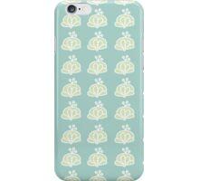 Berry pattern iPhone case - light green iPhone Case/Skin