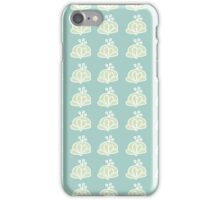 Berry pattern iPhone case - light green iPhone Case/Skin
